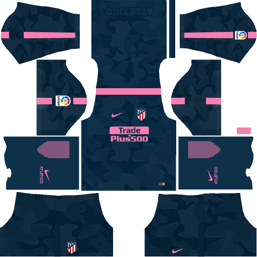Atlético Madrid Third Kits DLS 2018