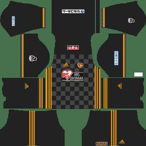 Vegalta Sendai Goalkeeper Away Kits DLS 2018