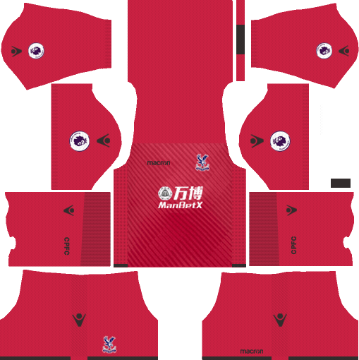 Crystal Palace F.C. Goalkeeper Away Kits DLS 2018
