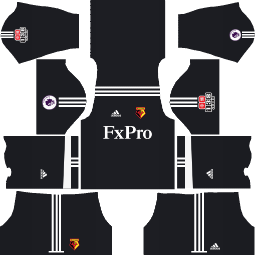 Watford F.C. Goalkeeper Away Kits DLS 2018