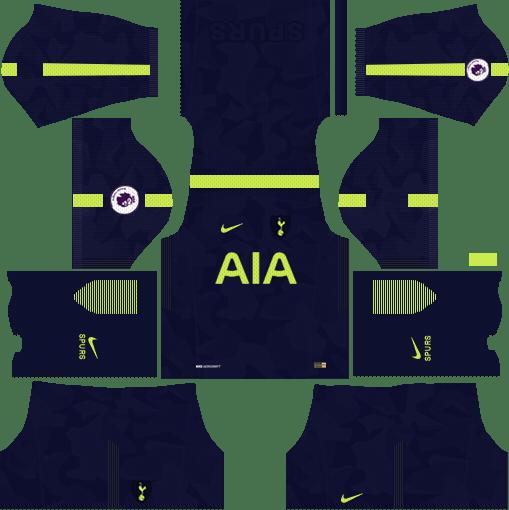 Tottenham Hotspur Third Kits DLS 2018