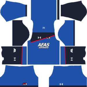 AZ Alkmaar Away Kits DLS 2018