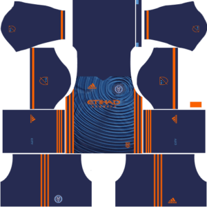 New York City FC Away Kits DLS 2018