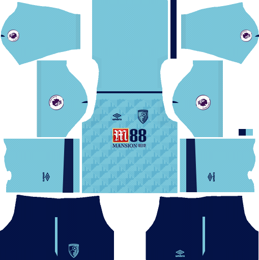 A.F.C. Bournemouth Away Kits  DLS 2018