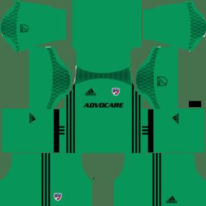 FC Dallas Goalkeeper Home Kits DLS 2018
