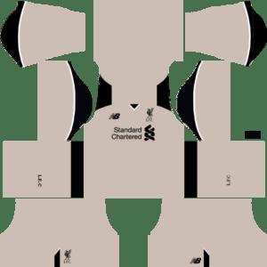 Liverpool Goalkeeper Third Kits DLS 2018