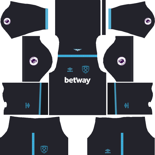 West Ham United Away Kits DLS 2018