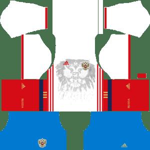 Russia Away Kits DLS 2018