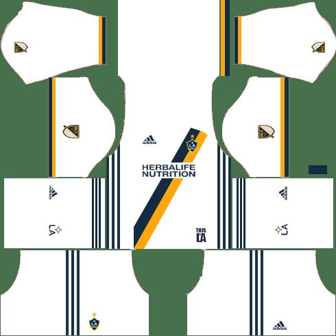 LA Galaxy Home Kits DLS 2018