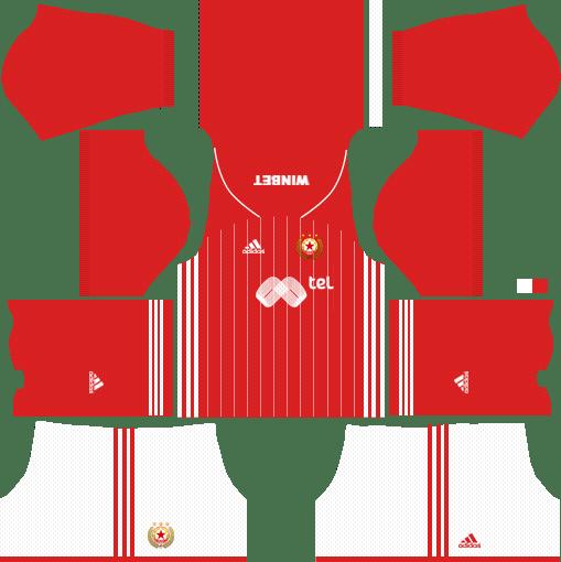 CSKA Sofia Home Kits DLS 2018
