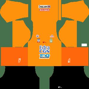 Melaka United Kits Goalkeeper DLS 2018