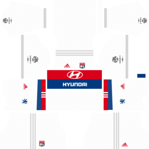 Olympique Lyonnais Home Kits DLS 2018