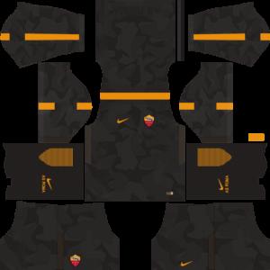 AS Roma UCL (Third) Kits DLS 2018