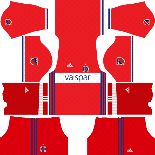 Chicago Fire Home Kits DLS 2018