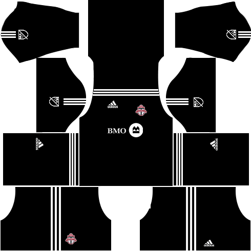 Toronto FC Goalkeeper Home Kits DLS 2018