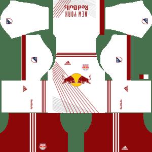 New York Red Bulls Home Kits DLS 2018
