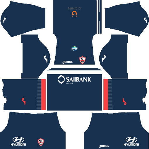 Al-Zamalek SC Away Kits DLs 2018