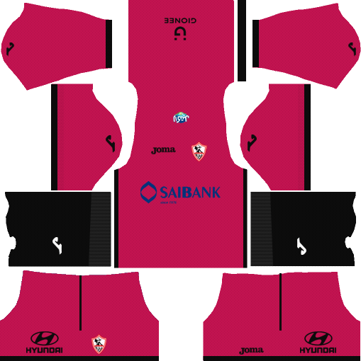Al-Zamalek SC Goalkeeper Away Kits dls 2018
