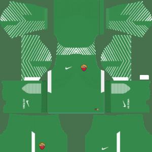 AS Roma Goalkeeper Away Kits DLS 2018