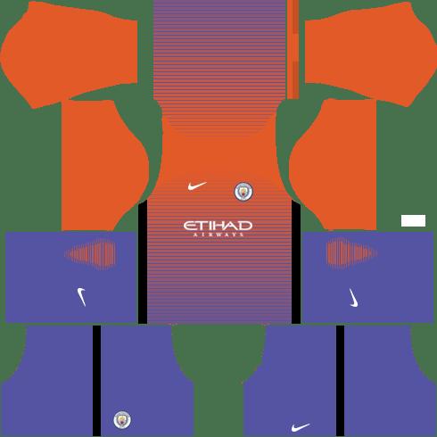 Manchester City Third Kits DLS 2018