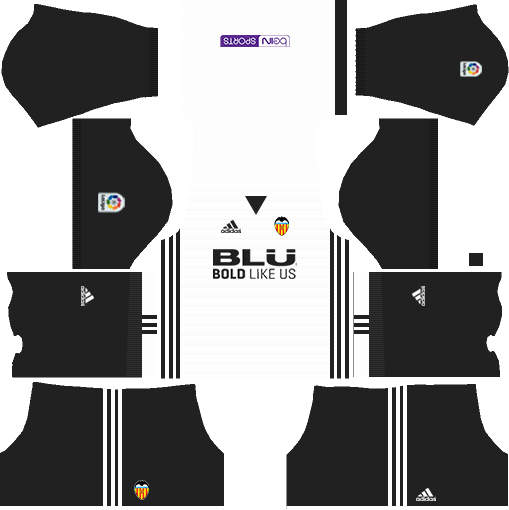 Valencia CF Home Kits DLS 2018