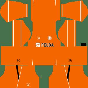Felda United Kits Home DLS 2018