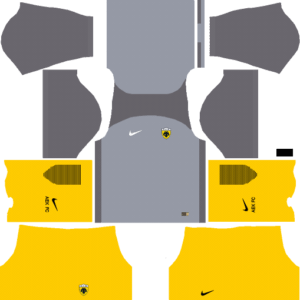 AEK F.C. Away Kits DLS 2018