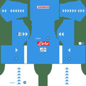 Napoli Home Kits DLS 2018