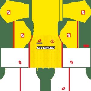 Selangor Kits Away DLS 2018