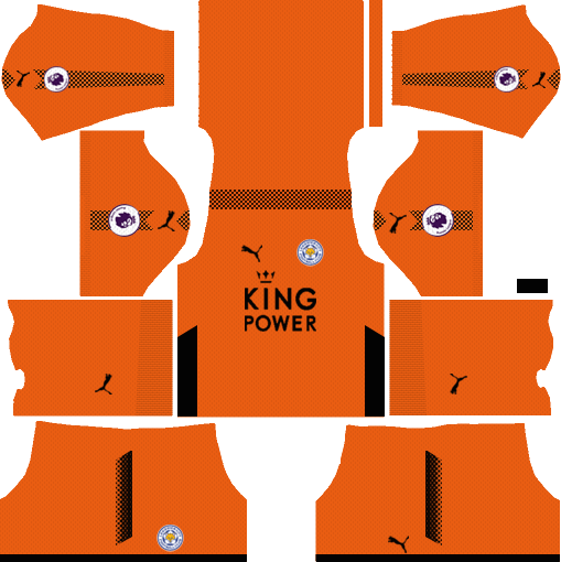 Leicester City Goalkeeper Third Kits DLS 2018
