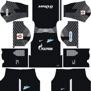 Zenit St Petersburg Goalkeeper Away Kits DLS 2018
