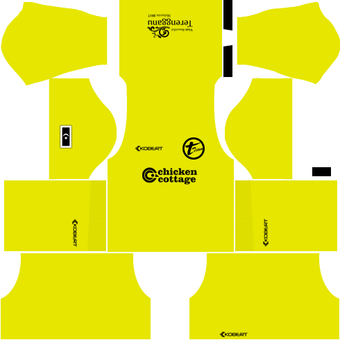 T-Team Kits Goalkeeper Away DLS 2018