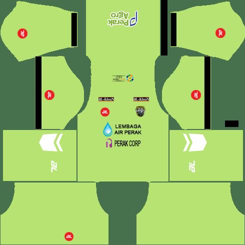 Perak Kits Goalkeeper Away DLS 2018