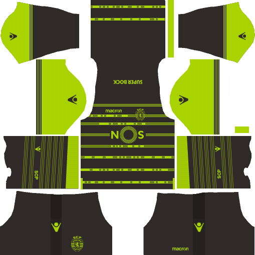 Sporting CP Away Kits DLS 2018