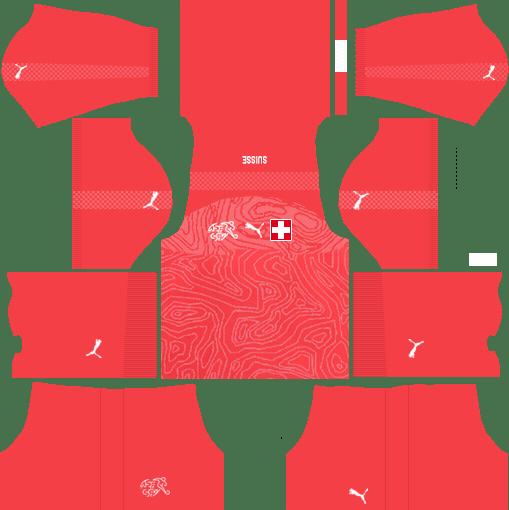 Switzerland Home Kits 2018