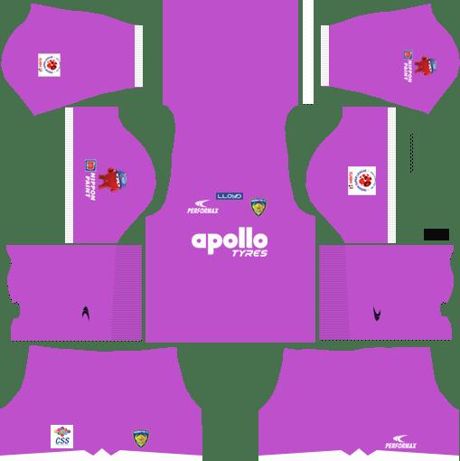 Chennaiyin FC Kits Away Goalkeeper 2018