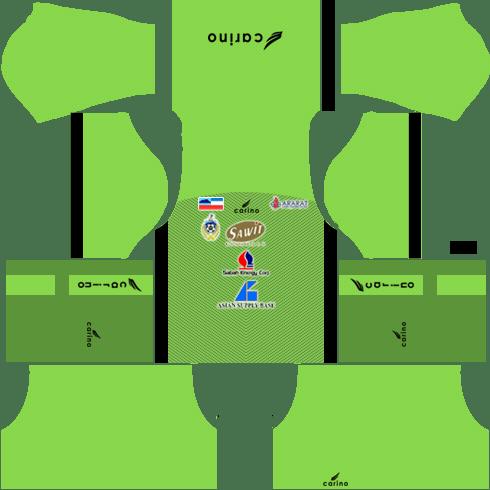 Sabah Fa Goalkeeper Home kit 2018