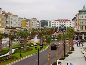 The Market Common combines a coastal village setting with urban ammenities