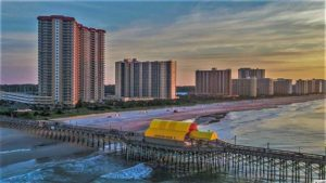 Oceanfront Tower condos for sale at Kingston Plantation in Arcadian Shores area of Myrtle Beach Real Estate