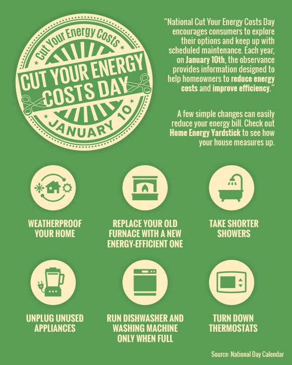 National Cut Your Energy Costs Day [INFOGRAPHIC]   Simplifying The Market