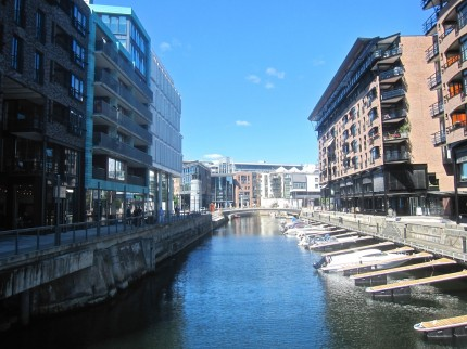 another view of the canal