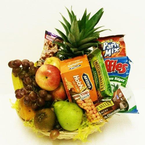 Dream Makers Florist Barbados Fruit & Snack Basket