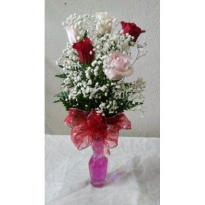 Dream Makers Florist Barbados 5 Roses