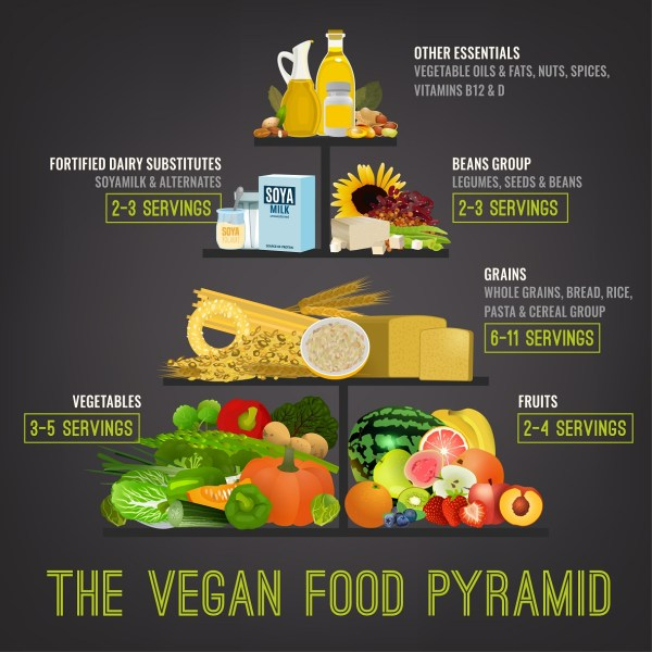 Vegan Diet Pyramid