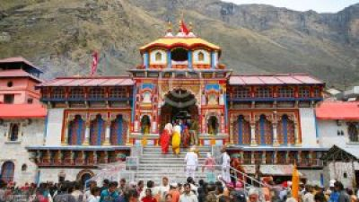 Badrinath Temple- Main Entrance