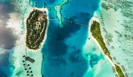 Conrad Maldives Rangali Island Resort.