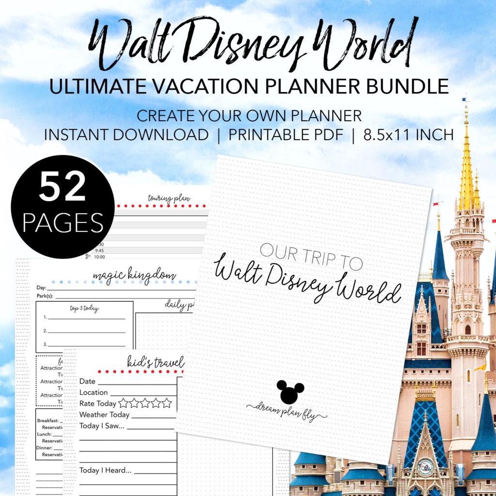 Walt Disney World Touring Plan Spreadsheet