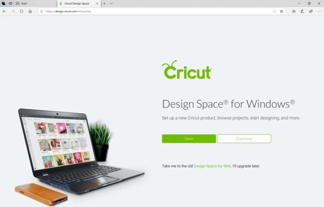 Download or open Cricut Design Space Online