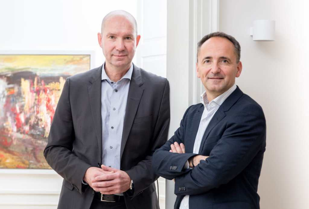 Mikael Trolle and Jim Hagemann Snabe