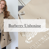 Burberry Unboxing